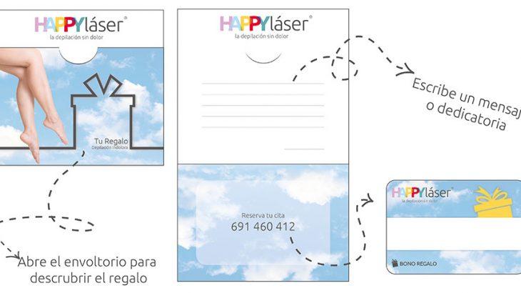 Imagen del bono regalo de Happy Láser