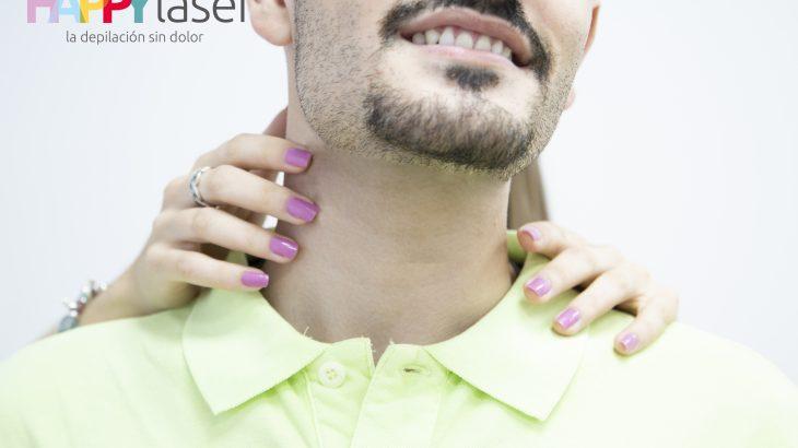 la depilación láser en el cuello