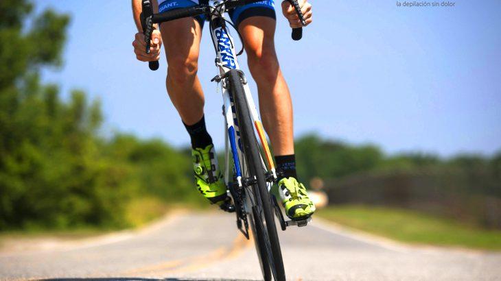 depilación láser y ciclismo
